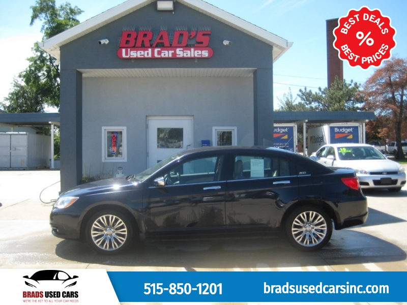 Chrysler 200 2012 price $8,700