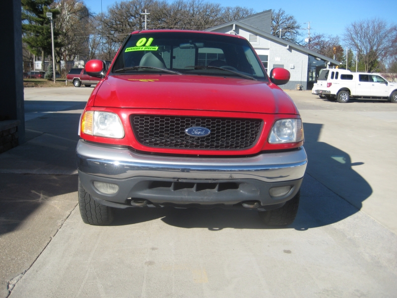 Ford F-150 SuperCrew 2001 price $6,400
