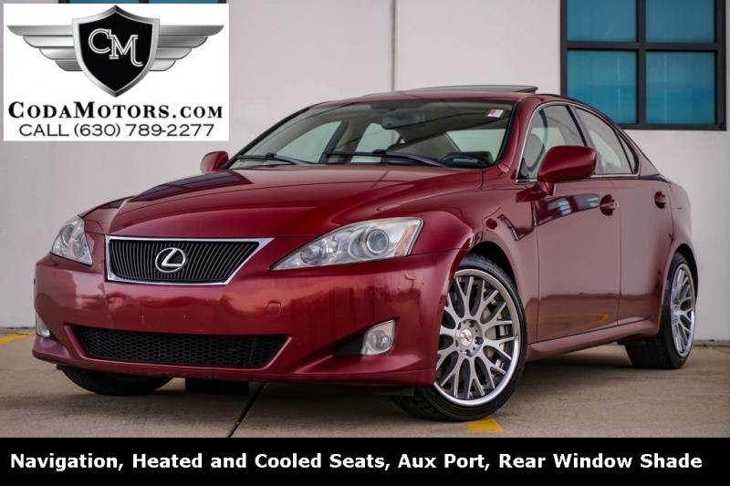 Lexus IS 2007 price $6,980
