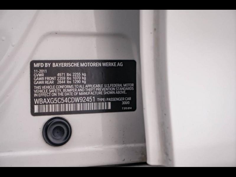 BMW 5 Series 2012 price