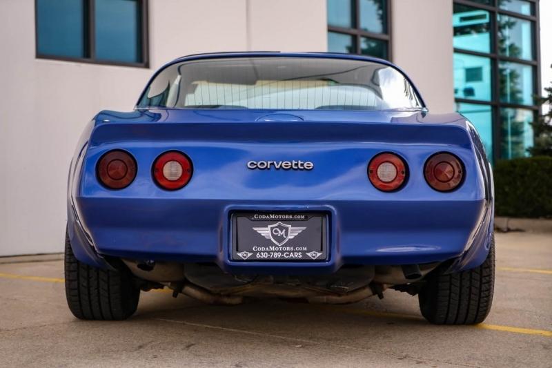 Chevrolet Corvette 1982 price $0