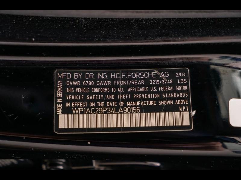 Porsche Cayenne 2004 price $17,980