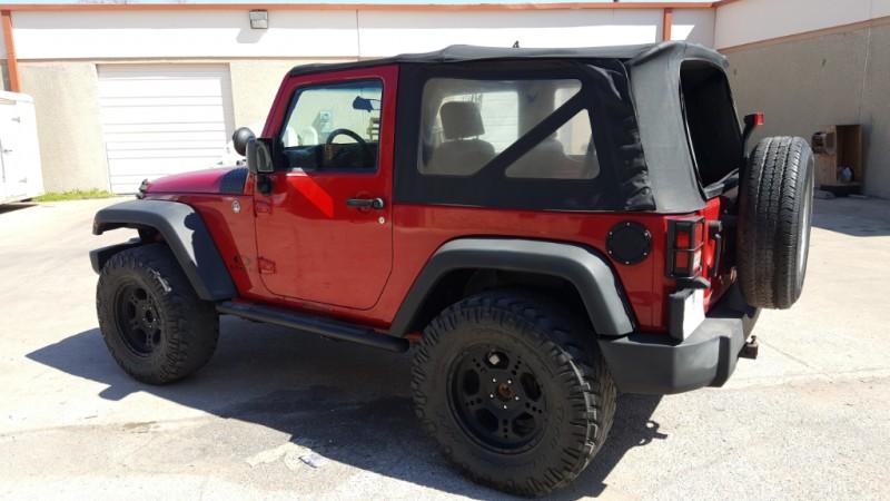Jeep Wrangler 4WD MANUAL 2008 price $14,890