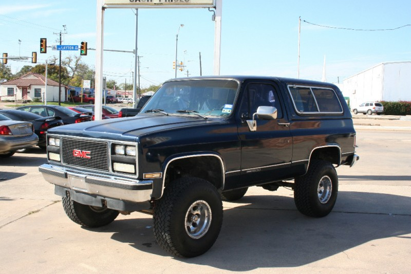 1990 GMC Jimmy V1500 4WD - Inventory | Terry's Motors ...