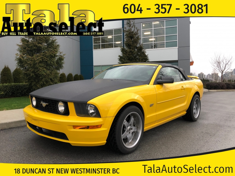 2006 Ford Mustang Gt Deluxe Convertible Automatic Local Bc