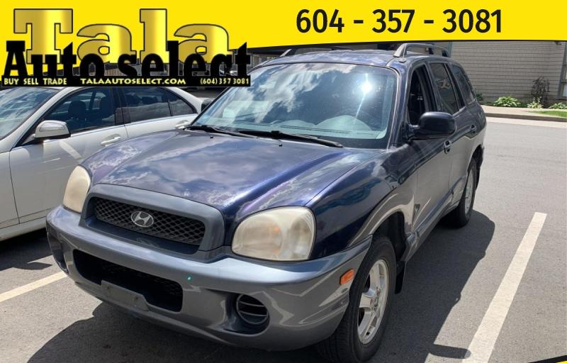 Hyundai Santa Fe 2004 price $1,650