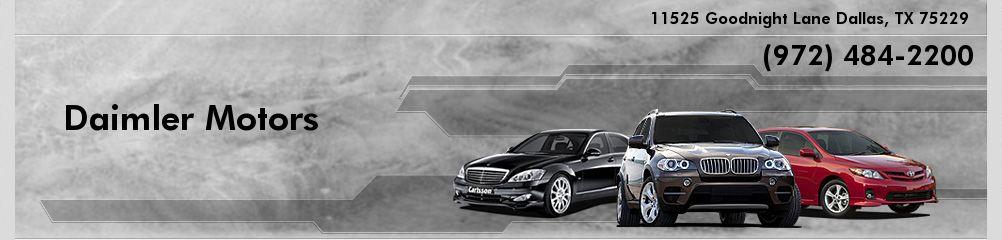 Daimler Motors. (972) 484-2200