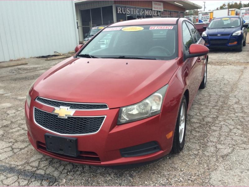 Chevrolet Cruze 2012 price 1100down