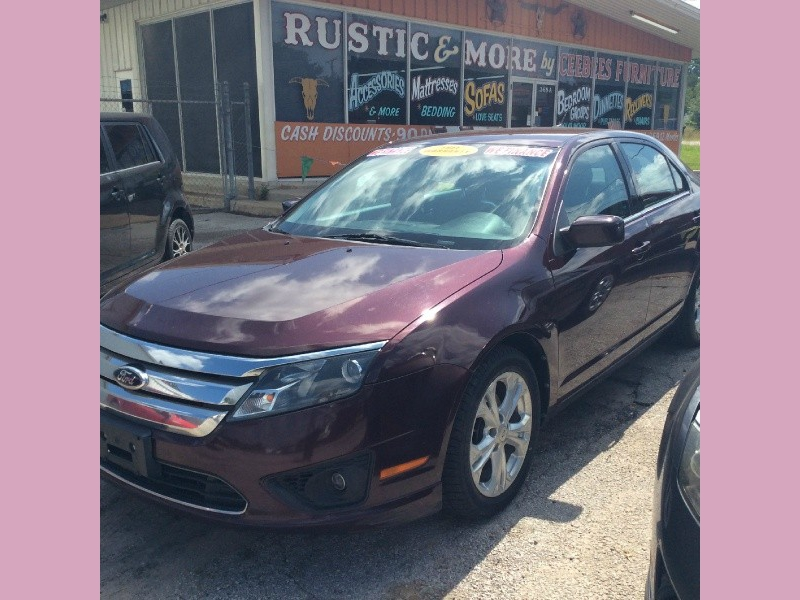 Ford Fusion 2012 price 1000down