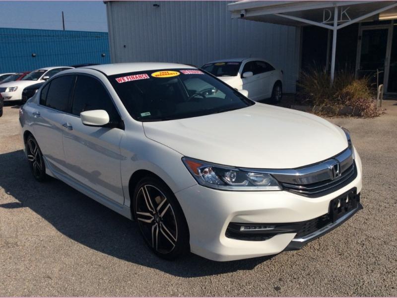 Honda Accord Sport 2016 price $0