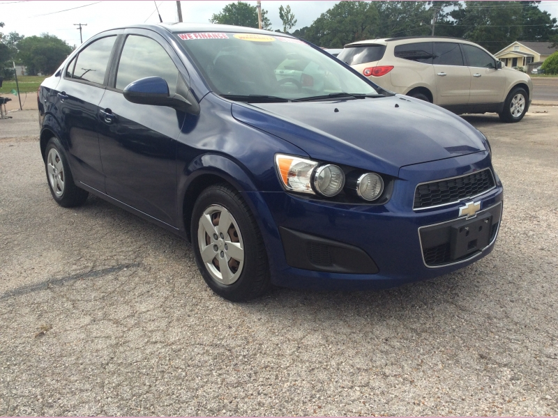Chevrolet Sonic 2013 price 900down