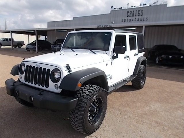 Jeep Wrangler Unlimited 2016 price $25,700