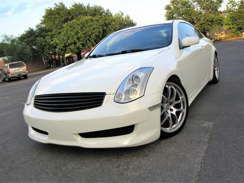 2006 infiniti g35 coupe pearl white 6 speed manual excellent2006 infiniti g 35 coupe 6 speed manual