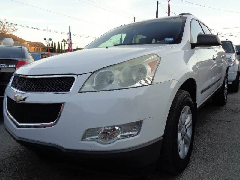 Chevrolet Traverse 2009 price $5,495