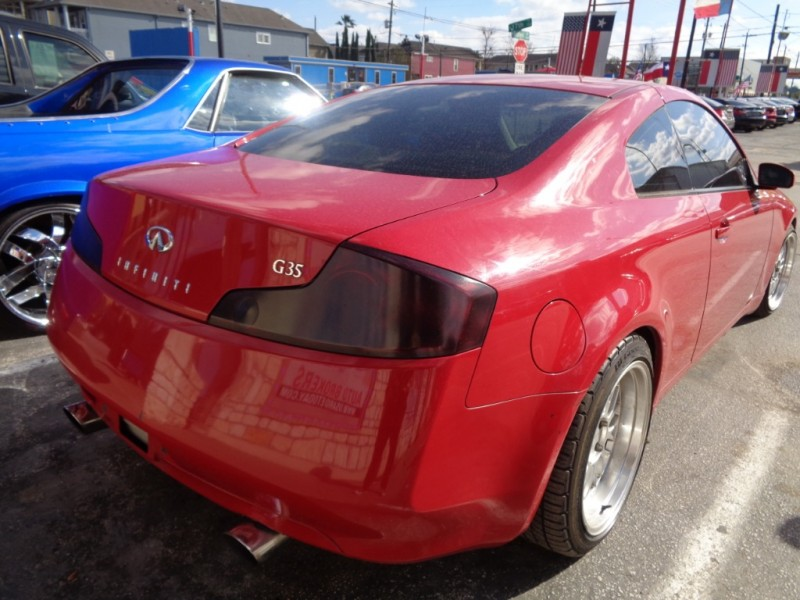 Infiniti G35 Coupe 2004 price $6,995