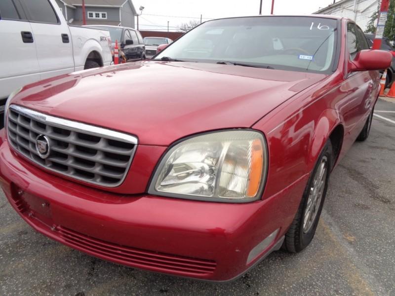 Cadillac DeVille 2004 price $3,495