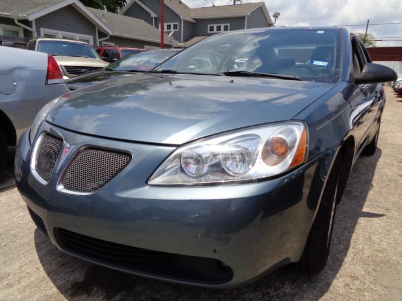 Pontiac G6 2006 price $3,495