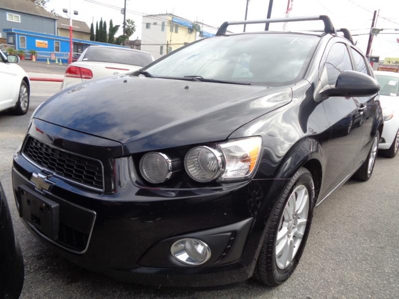 Chevrolet Sonic 2013 price $4,495