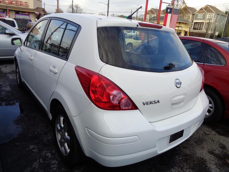 Nissan Versa 2007 price $4,495