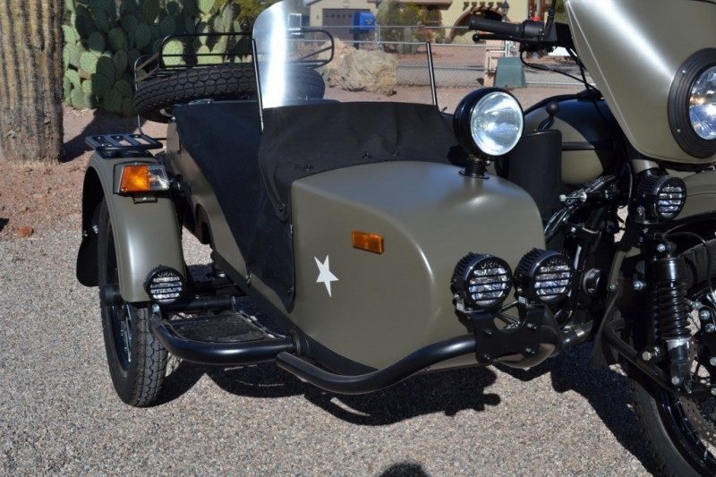 Ural Gear Up Flat Olive Custom 2016 price SOLD