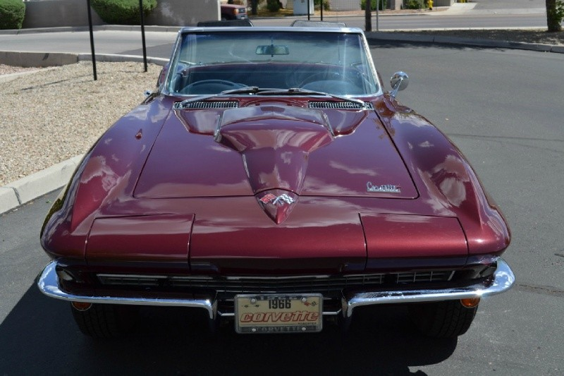 1966 Corvette Conv 427CI/390HP MIDYEAR - Vette Culture | Corvette