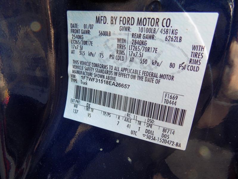 Ford Super Duty F-350 SRW 2008 price $13,995