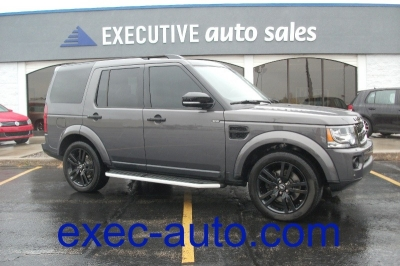 2016 Land Rover LR4 4WD HSE Silver Edition