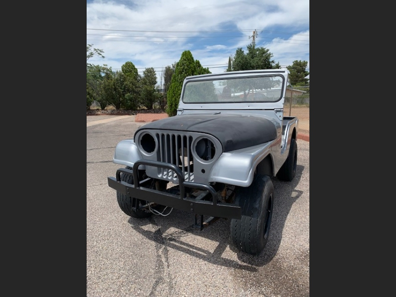 Jeep Wrangler 1962 price $5,000