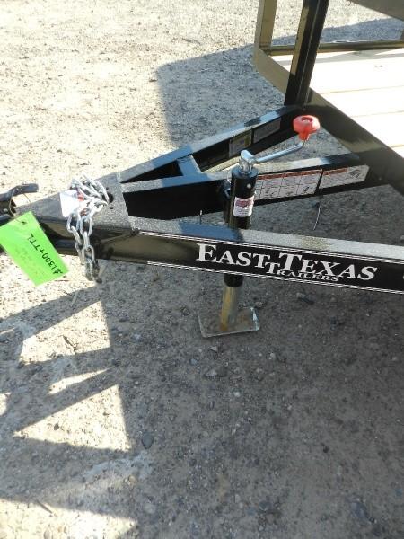 East Texas Trailers 5x10' 2018 price $1,300