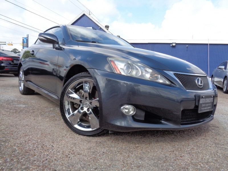 Lexus IS 250C 2010 price $0