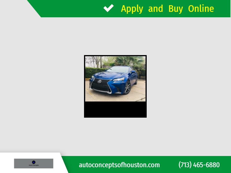 Lexus GS350 2016 price $29,995