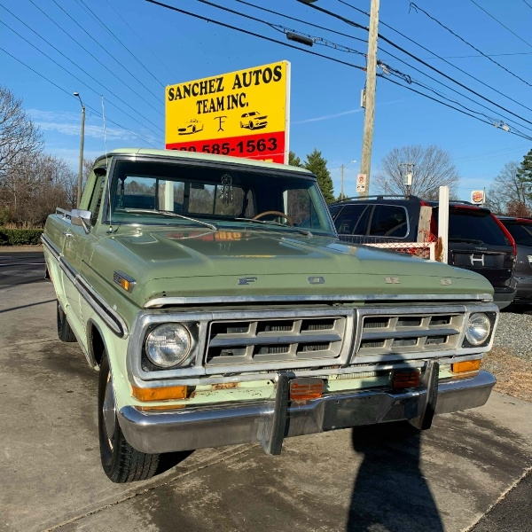 Ford F100 1971 price $9,900 Cash