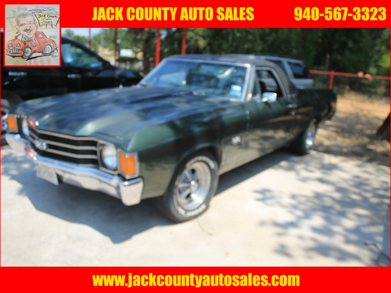 CHEVROLET EL CAMINO 1972 price $15,000