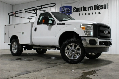 2012 Ford F-250 _ Utility Tool Body _ Ladder Rack _ 4x4