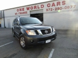 Nissan Pathfinder Silver/Leather/ B.UP CAMERA 2012