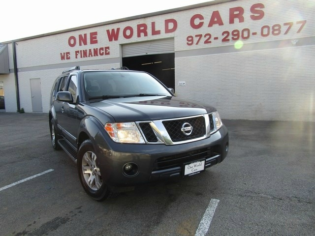2012 Nissan Pathfinder Silver/Leather/ B.UP CAMERA