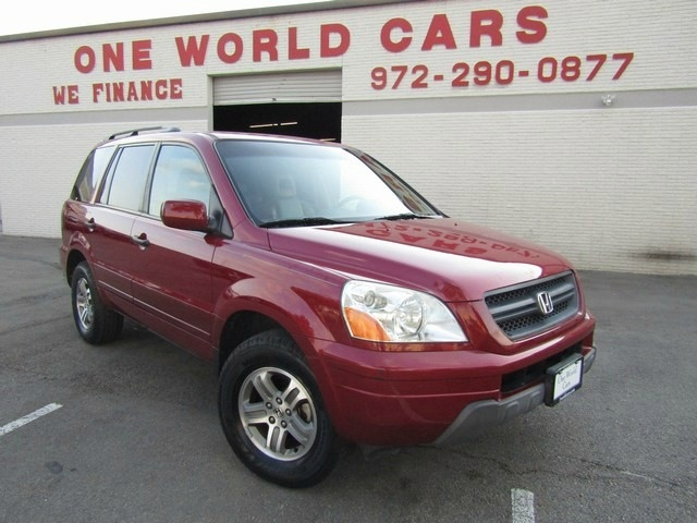 2004 Honda Pilot 1Owner 4WD EX Auto w/Leather/DVD