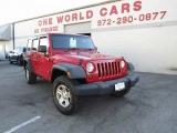 Jeep Wrangler Unlimited 4WD 4dr X RHD 2009