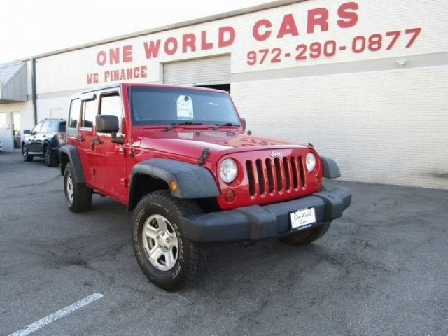 2009 Jeep Wrangler Unlimited 4WD 4dr X RHD