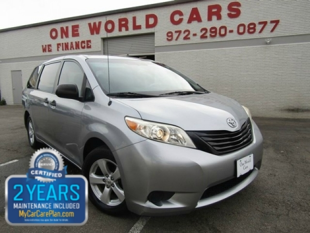 2011 Toyota Sienna 1-OWNER COMES WITH WARRANTY