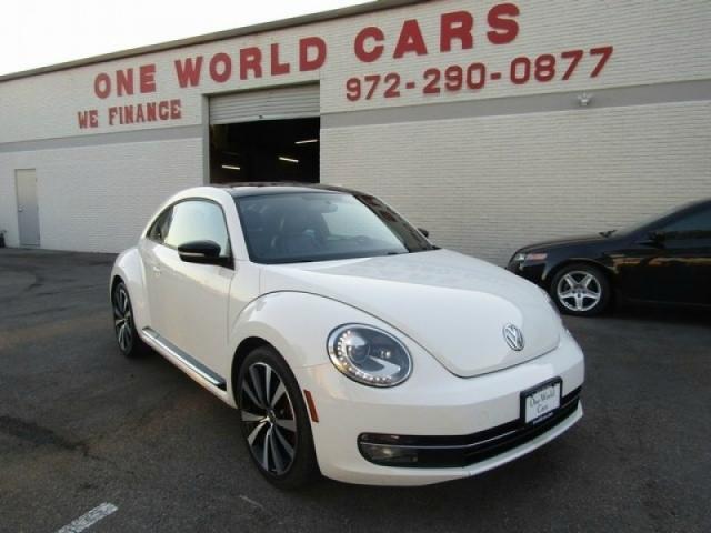 2013 Volkswagen Beetle/Turbo/Nav/Leather/R-Line