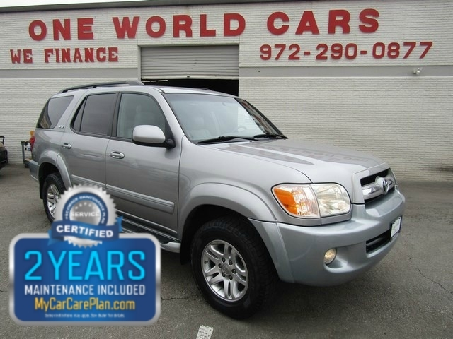 2006 Toyota SEQUOIA SR5 LIMITED 4X4 Leather MOON ROOF HEATEDCO