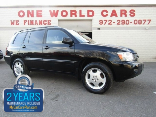 2006 Toyota Highlander LTD 4WD 3RD ROW SEAT