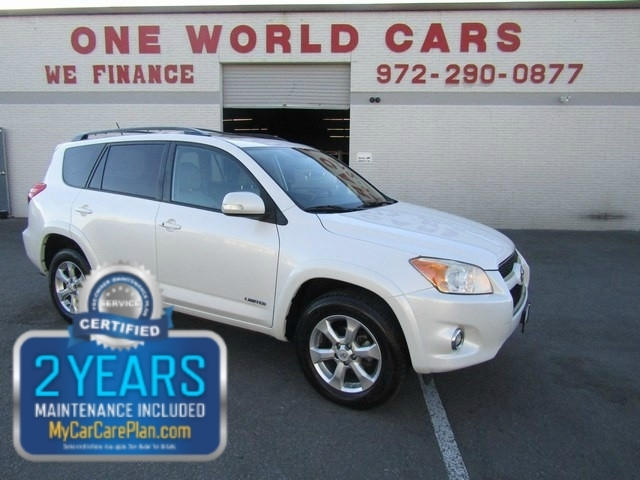 2010 Toyota RAV4 Ltd 1Owner COMES WITH WARRANTY