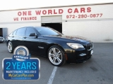 BMW 750Li M Sports & comes with warranty 2011