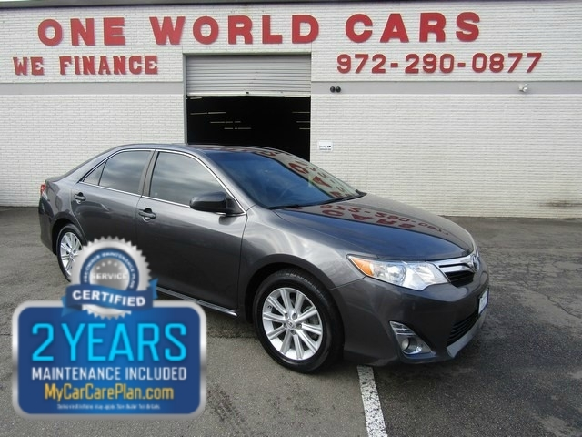 2013 Toyota Camry XLE 1 OWNER NAV ROOF