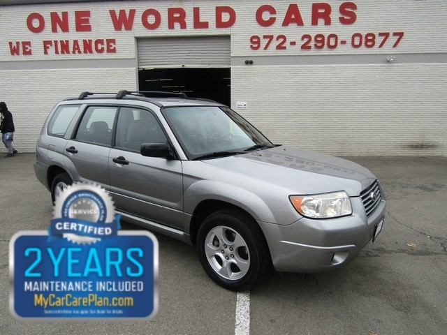 2007 Subaru Frester 1 Owner COMES WITH WARRANTY