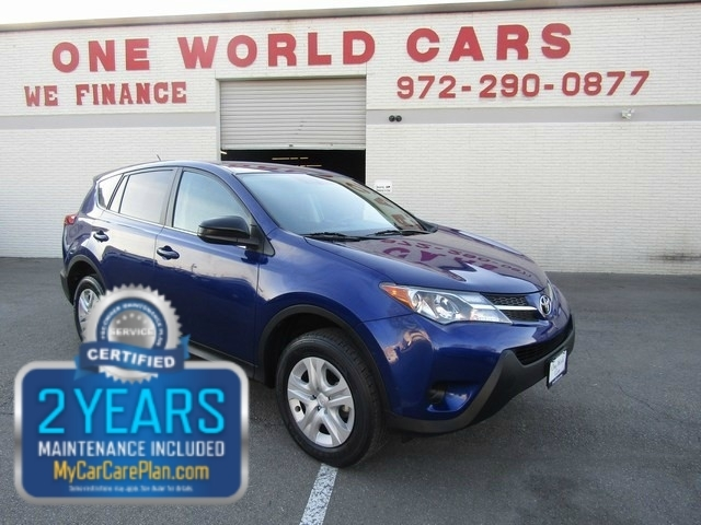 2015 Toyota RAV4 LE 1OWNER COMES WITH WARRANTY
