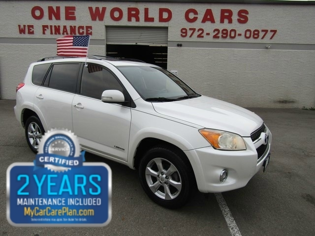 2009 Toyota RAV4 Limited 1 Owner COMES WITH WARRANTY
