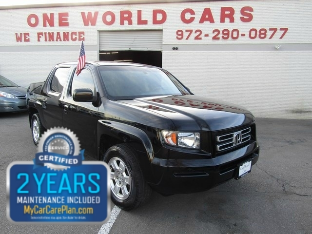 2008 Honda Ridgline 4WD RTL 1 Owner COMES WITH WARRANTY